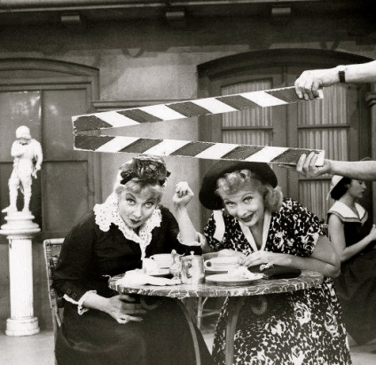 """Lucille Ball """"Lucy Takes a Cruise""""1957 (Public domain/commons.wikimedia.org)"""