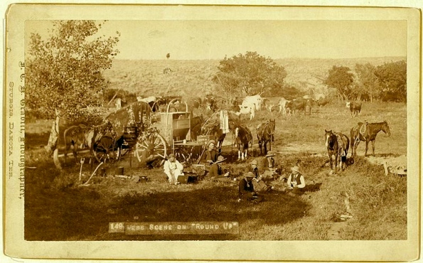Chuckwagon.By JCH Grabill:Library of Congress:commons.wikimedia.org:US public domain)