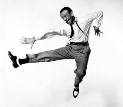 Fred Astaire. (1955.publicity shot.Public domain in US.)