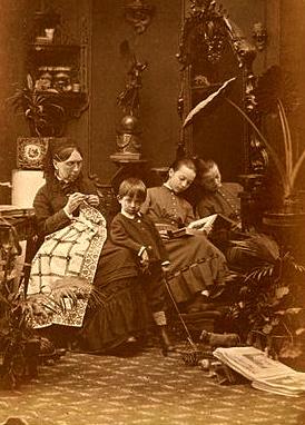 Granny. (Karelin.1837-1906 US Public Domain, expired copyright. commonc.wikimedia.org)