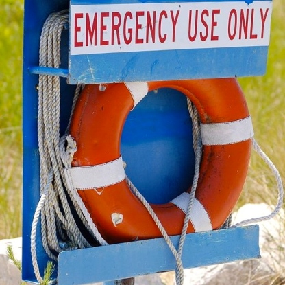 "life preserver. (Image. Flickr.com user""The Jamoker""/:commons.wikimedia.org)"