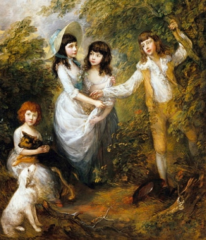 Marsham Children, Gainsborough.1787. (Image: US Public domain/commons.wikimedia.org)