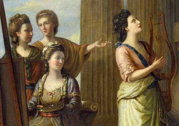 Portraits of the Muses by Richard Samuel,1778 (US Public domain / commons.wikimedia.org))