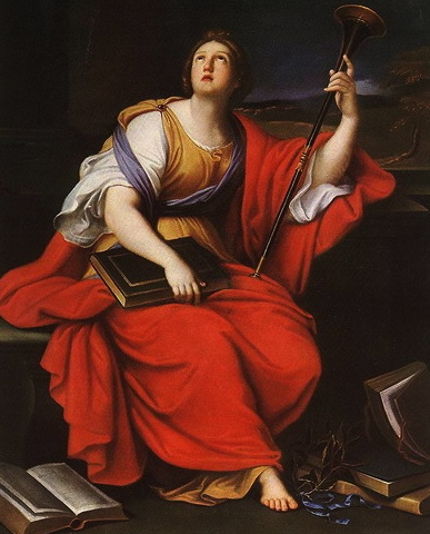 The Muse Clio by Mignard, 1689. (US Public domain.commons.wikimedia.org)