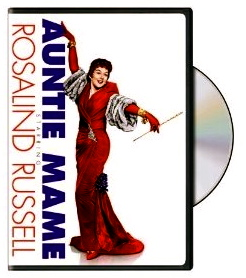 Life was exciting with eccentric Auntie Mame! (Image: 2002 Auntie Mame DVD cover. Amazon.com_