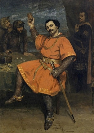 Courbet painting, 1857. Robert le diable role/commons.wikimedia.org)