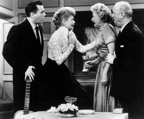 I Love Lucy. Nov 14, 1955 episode. (US public domain. Published without copyright notice:(1923-1977) / commons.wikimedia.org)