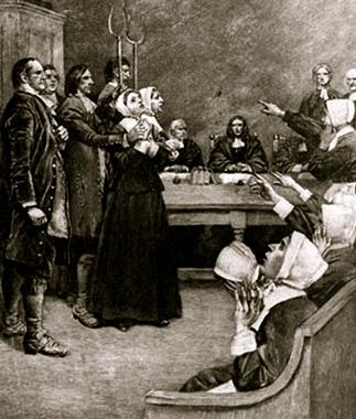 Salem. engraving 17th century. (US Public domain.expired copyright. commons.wikimedia.org)