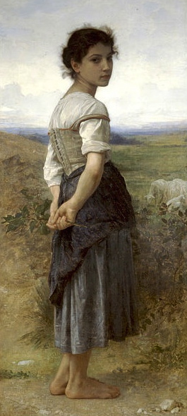 What's an ordinary person to do?(1885 painting by Bouguereau,1825-1905.US Public domain image-life of artist+100 yrs./common.wikimedia.org)