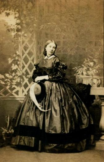 a lady defiant