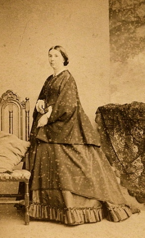 Portrait by Rodger, 1860s (US public domain: expired copyright.commons.wikimedia.org)
