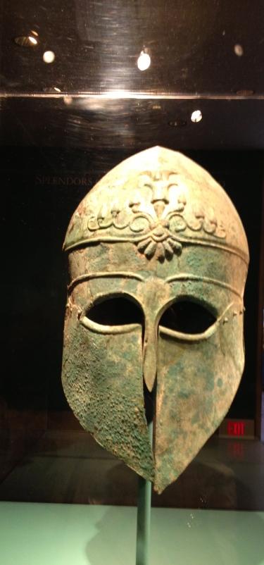 Helmet. Museum Fine Art. Houston,TX