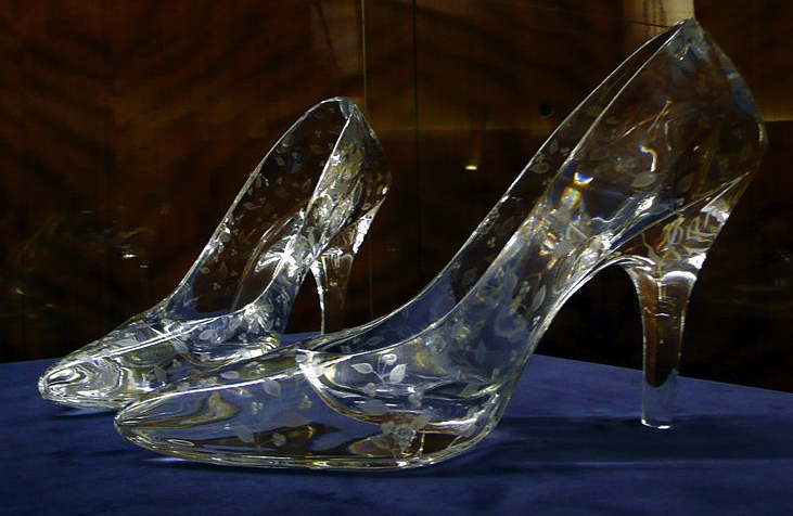 Ladies Crystal Shoes
