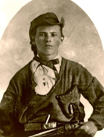 Jesse James. Probably kicked blocks. Obviously played with guns (US public domain: expired copyright/ artist life +70/ Commons.wikimedia.org)