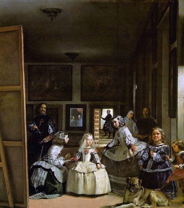 The Royals honored their Little People. (Las Meninas.1656.Velazquez.1599-1660. Prado/ US public domain:reprod of PD art/ artist life+100/Commons.wikimedia)