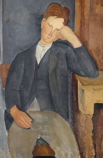 (Modigliani 1884-1920:Google Art Project: US public domain: reprod of PD art/ artist life+90/ Commons.wikimedia.org)