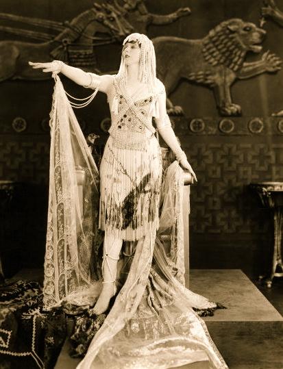 "1921 vintage film ""Queen of Sheba"""