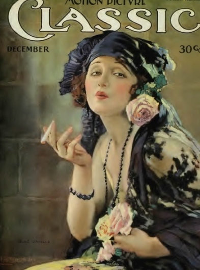 (1920 Motion Picture Classic actress Bebe Daniels/US PD:pub.date/Commons.wikimediaa.org)