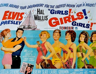 1962 Elvis Movie poster. Paramount Pictures/US PD: Pub. date/cr exp.and not renewed:WIKIpedia.org