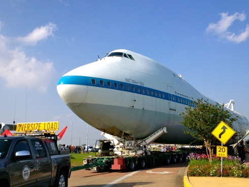 747 Nasa Shuttle Transport.(Parker.no permission given)