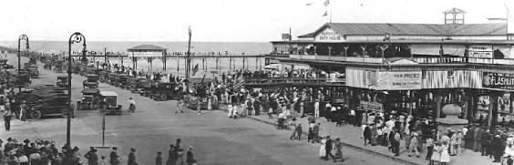 Before the 1900 storm. in Galveston, TX (Islandof galveston.com/ Rosenburg Library)
