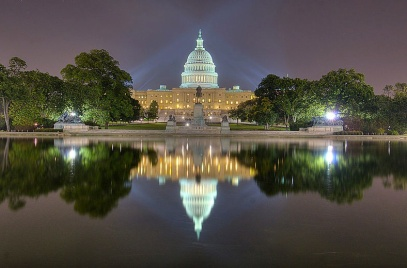 Capitol Reflection pool in Washington, DC. (Image:Bo Neilsen/AgnosticPreacherKid/Flickr/Commons.wikimedia.org)
