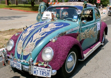 Fancy VW art car. Christine DiStadio/khou.com
