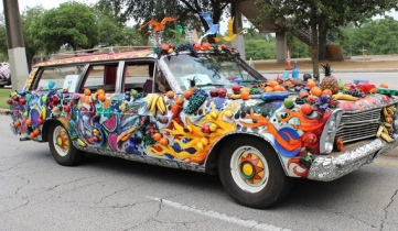 Fruity delicious Art Car (Christine DiStadio/khou.com)