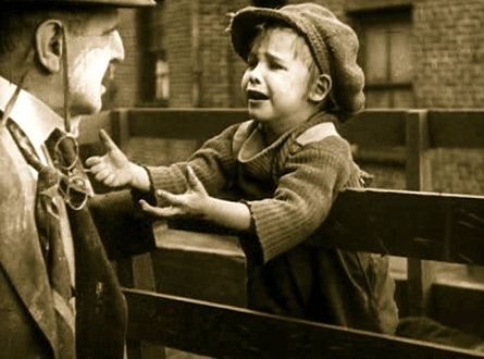 "VIntage film.1921.""The Kid""/Coogan/US PD:pub.date/Commons.wikimedia.org"