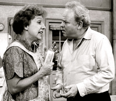 Archie and Edith.1974 All in the Family.CBS/US PD:pub.date/Commons.wikimedia.org)