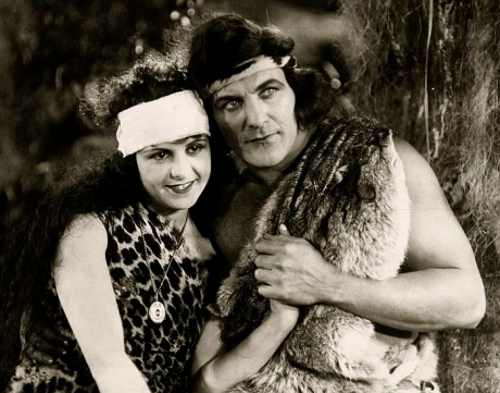 Romance of Tarzan and Jane.1918. National Film Corp. of America (Fine Art America)/US public domain: publication date/expired copyright/Commons.wikimedia.org)