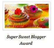 Super Sweet Blogger Awards. (elladeewords.wordpress.com)