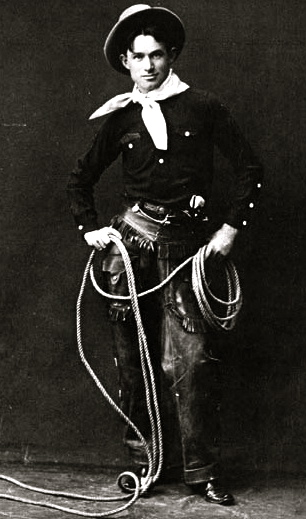 vintage cowboy outfit. Will Rogers. USPD/Commons.wikimedia.org)