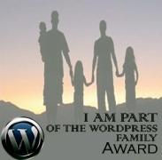 Word Press Family Award (http.:drgnflygrrl.wordpress.com:)