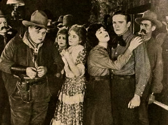 "Cowboys and gals.1920.photo still from""The Round-up""/Motion Picture News/Famous Plaers-Lasky Corp./US PD:pub.date/Commons.wikimedia.org"