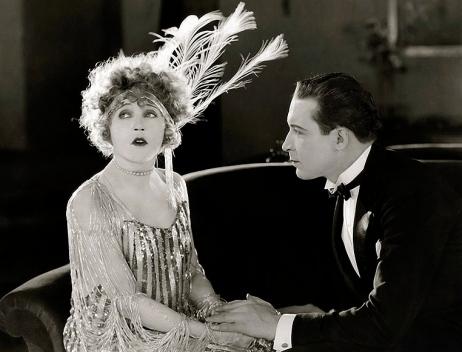 "Flapper era couple.1922. Mae Murray""Broadway Rose""/Leonard/USPD:pub.date/Commons.wikimedia.org"