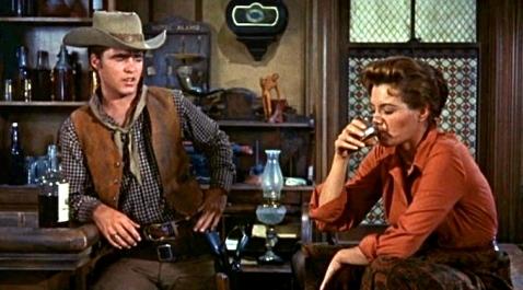 Saloon scene.1959 Rio Bravo trailer.(US PD.pub.date:nocr:Commons.wikimedia.org)