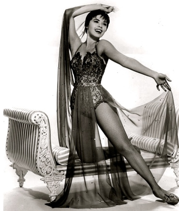 1960. Actress Neile Adams. Alfred Hitchcock Presents publicity shot/CBS/US PD:pub.date/no cr/Commons.wikimedia.org)