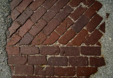 Brick road. (Image: Michael Paulsen)