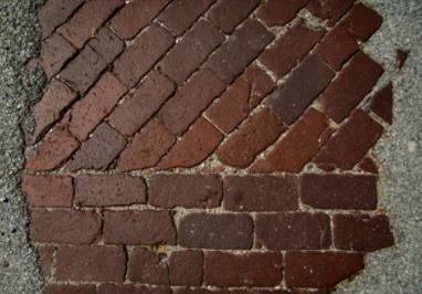 Brick road. (Image: Michael Paulsen)