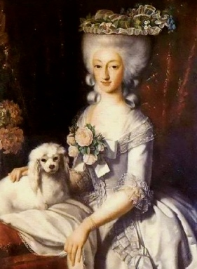 Princess with dog, 1777 (Image. US public domain/commons.wikimedia.org)