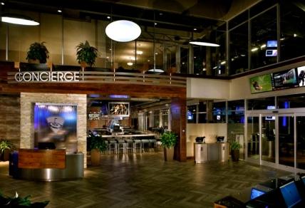 Publicity picture. Topgolf Houston West. Concierge