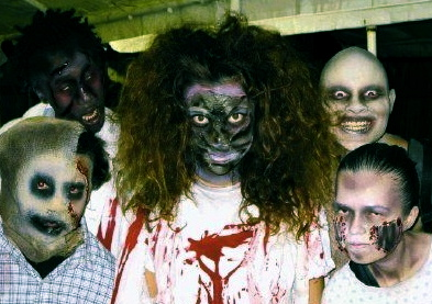 Zombies.  (Scream Team members.ScreamWorld pub. image)