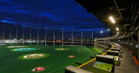 Topgolf Houston West. grounds