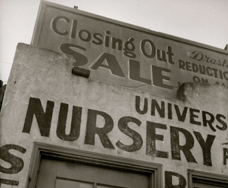 Plant Nursery sign. Dorothea Lange 1895-1965/NARA.1372774/US P:by fed.employee/Commons.wikimedia.org