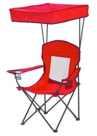 red folding chair. Academy.com. Outdoors Canopy Chair