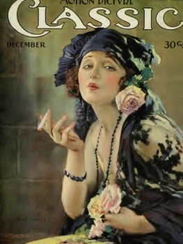 Elegant woman smoking cigarette. (Bebe Daniels /1920 Motion Picture Classic mag./US PD:pub.date/Commons.wikimedia.org)