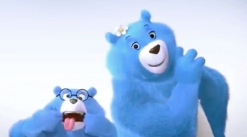 Charmin bears. youtube screen shot