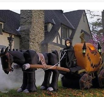 haunted carriage. (Gemmy.com)