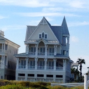 Victorian beach house in Galveston. No permissions granted. All rights reserved. Copyrighted